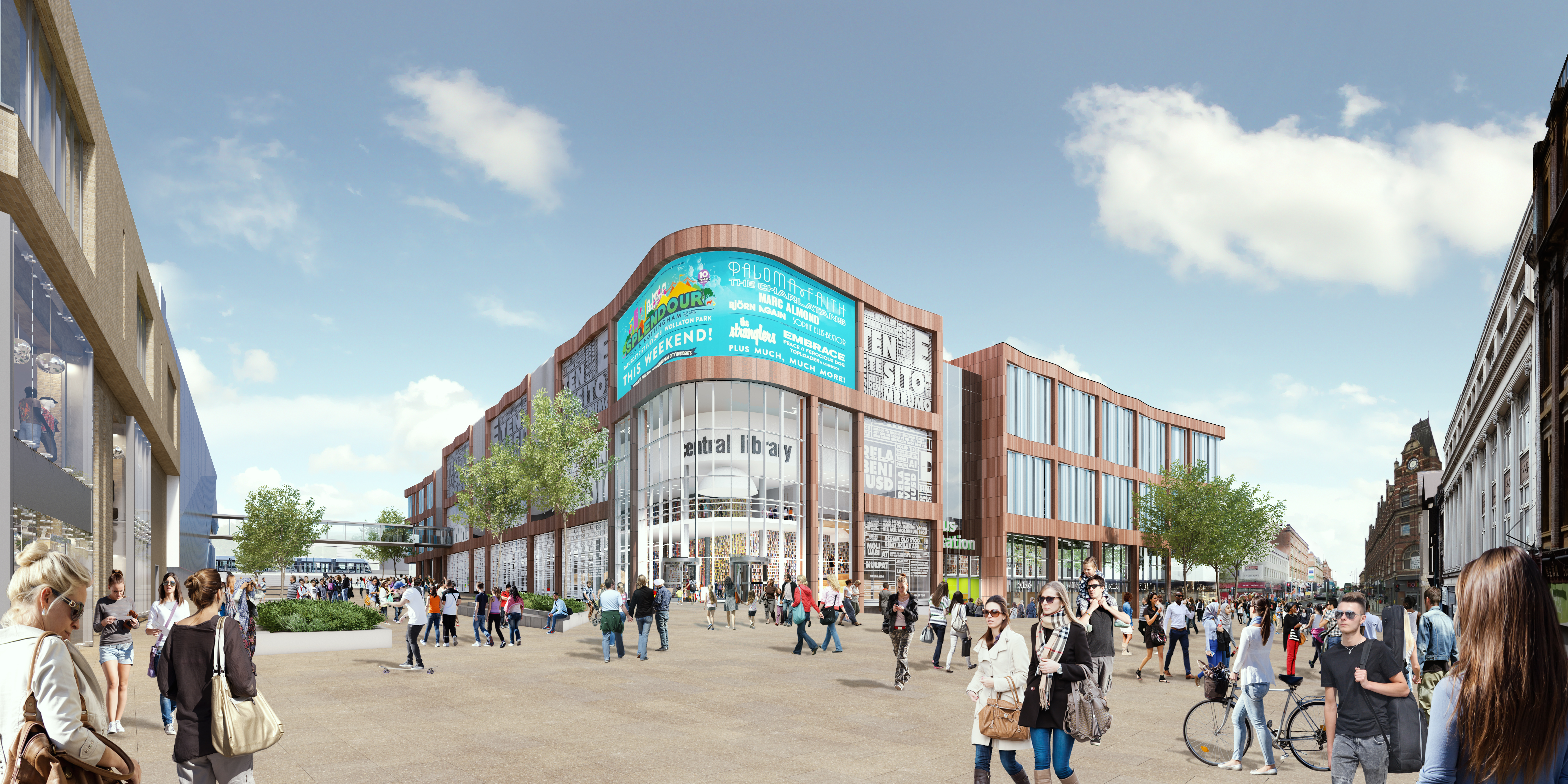 Broadmarsh artists impression