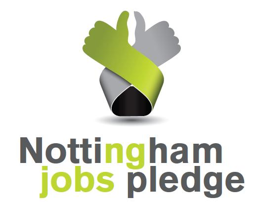 Nottingham Jobs Pledge Logo