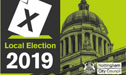 Nottingham Local Election 2019 results