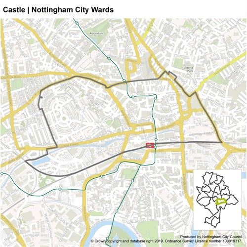 Castle Ward Map