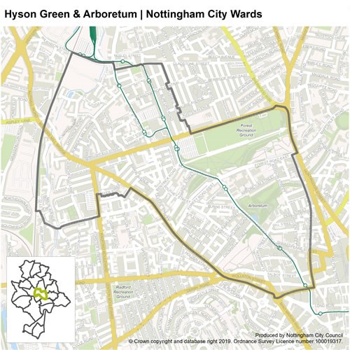 Hyson Green and Arboretum