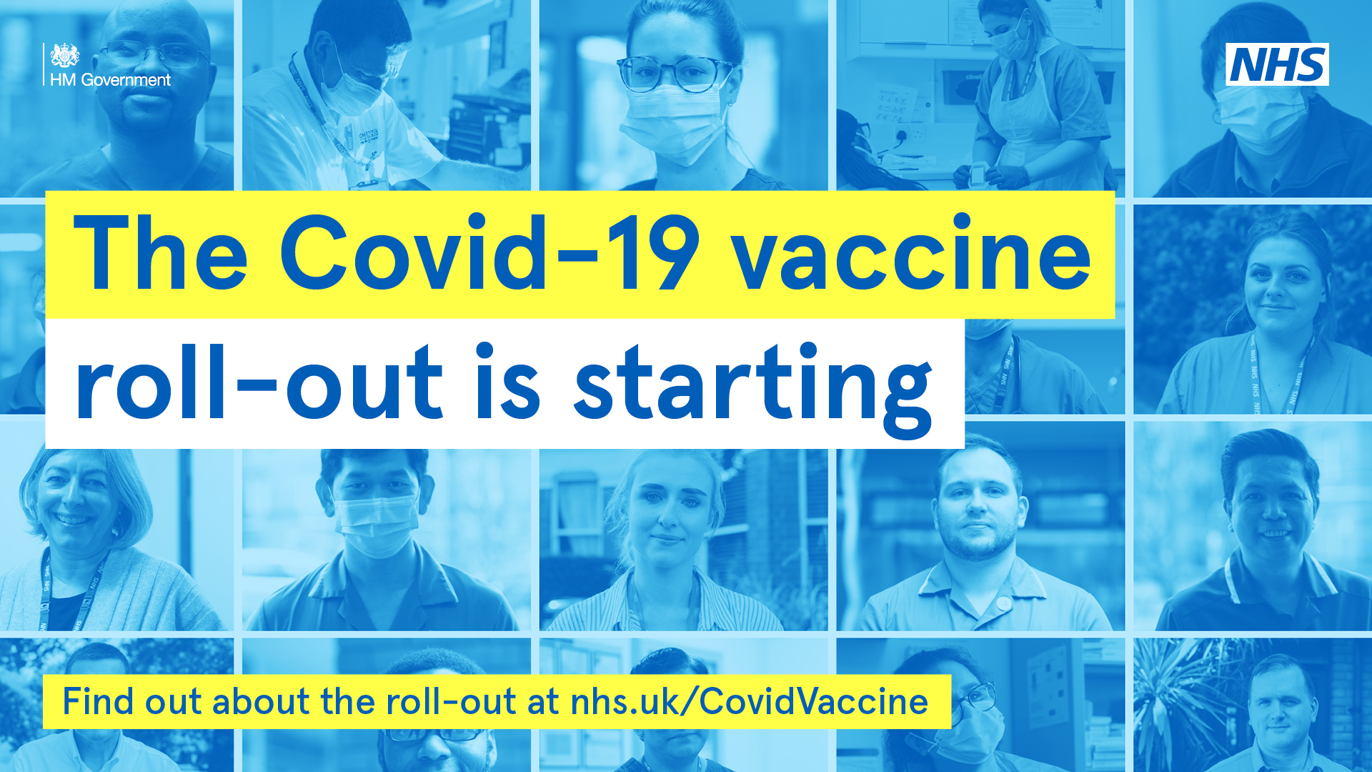 Covid-19 Vaccinations start
