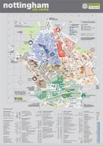 Nottingham City Centre Map