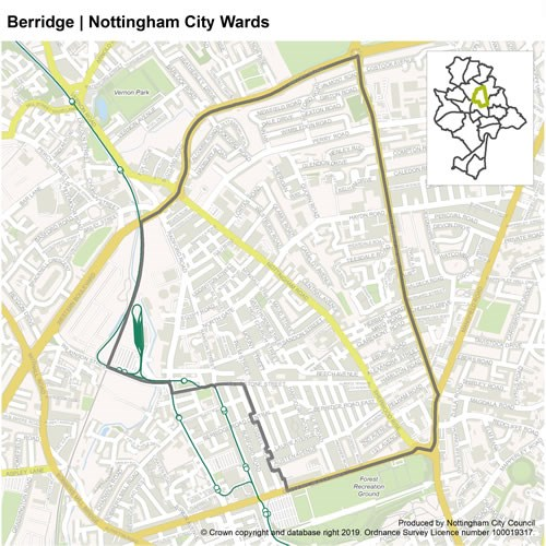 Berridge Ward Map