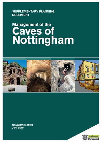 Caves of Nottingham booklet