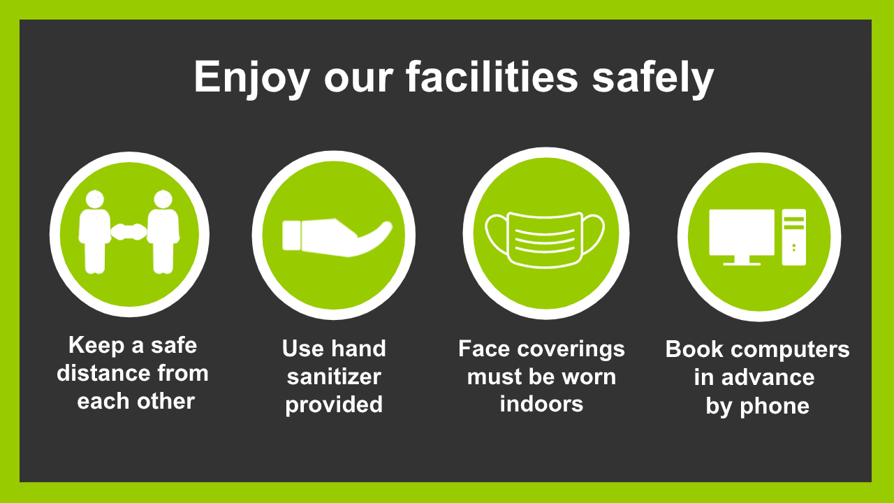 enjoy our facilities safely