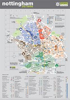 Nottingham City Hospital Map Nottingham City Centre map Nottingham City Hospital Map