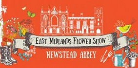 1 & 2 July East Mids Flower Show at Newstead Abbey